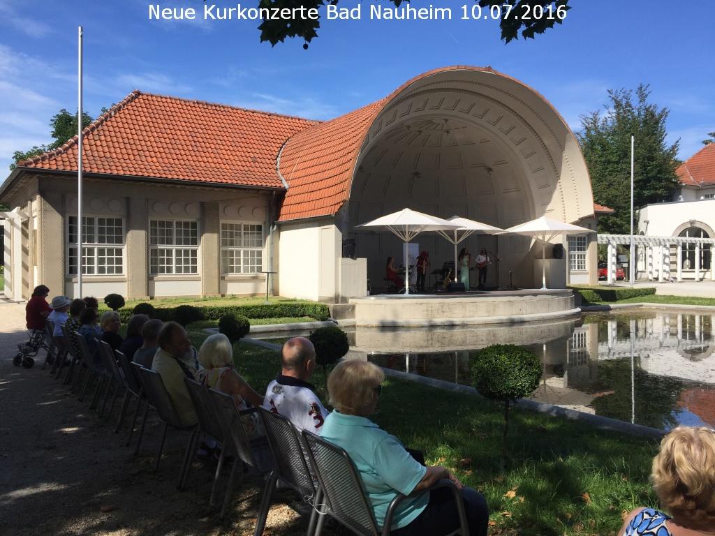 Neue Kurkonzerte Bad Nauheim