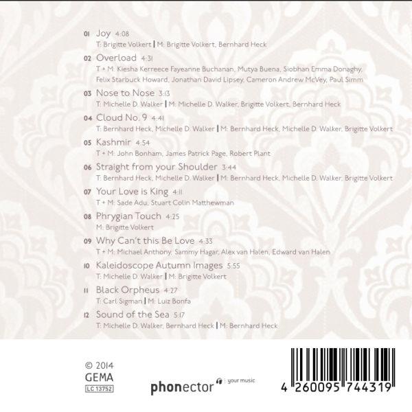 CD Coolanova Rückseite