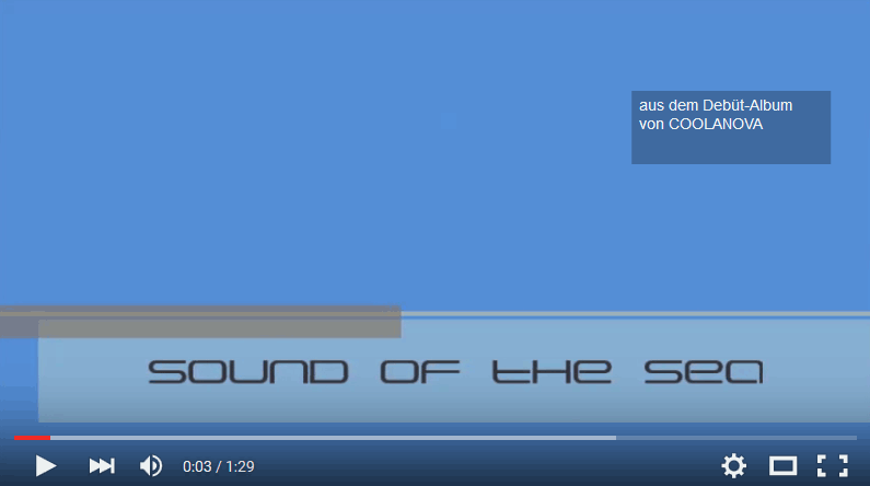 CD - Sound of the Sea